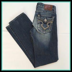 Big Star Kayla Straight Mid Rise Jeans